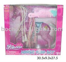 2011 plastic horse set animal toys