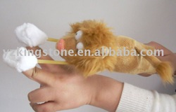 playmaker fling shot screaming plush flying animal lion