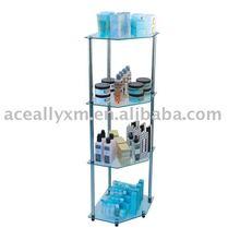 4-tier glass shelf corner 197t