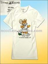 100% cotton with printing and embroidery fashion boy tshirt