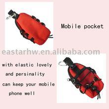 girl's mobile pocket