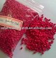 Plástico de polietileno lotes mestre da cor - vermelho pêssego e302
