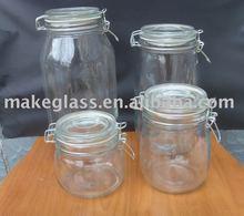 glass storage jar/food container