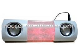 Colorful flashing speaker,Multimedia speaker,Mini portable speaker