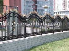 decorate iron garden fence