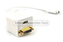 Mini DVI to HDMI+DVI cable