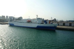 Ferry (RO-PAX VESSEL,Passenger boat,car and truck ferry boat)
