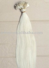 hand-tied weft/human hair extension