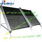 horizontal solar collector