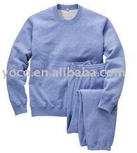 mens 100% cotton sweat suit
