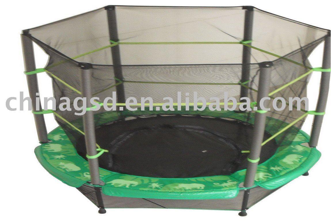 trampoline enclosure instructions