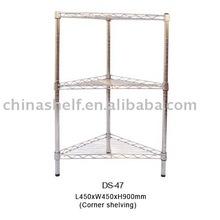 Wire Triangle Corner Shelf