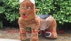 brown toy animal ride