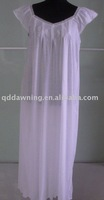 Ladies' cotton nightgown sleepwear night dress