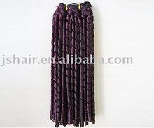 100%human hair weave