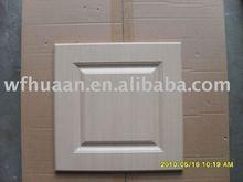 0.35mm wood grain PVC hot-pressing MDF Cabinet Door