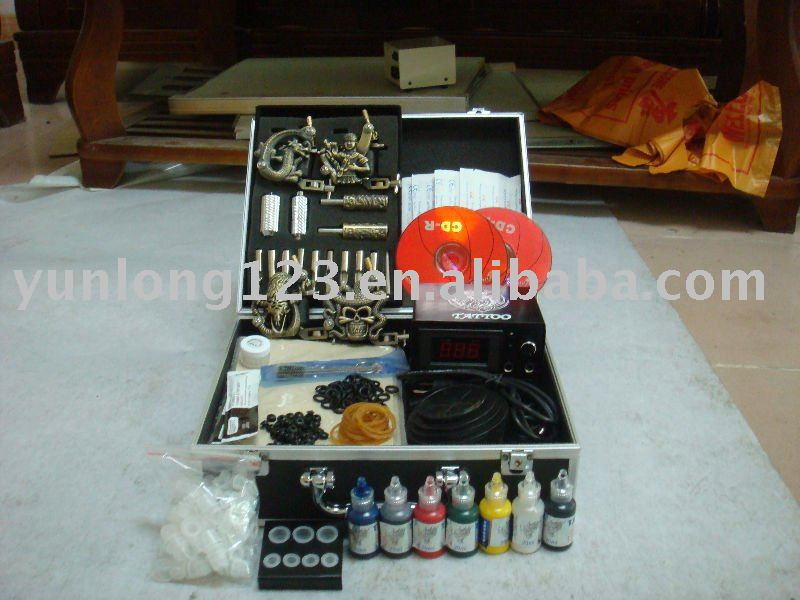 Professional Tattoo kits. See larger image: Tattoo Kits-Loy3313.