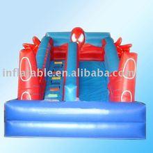 Spiderman inflatable slide(inflatable slide,inflatable sliding)