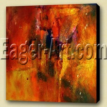 new design Gallery wrap painting on canvas