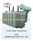 110kV oil immersed power transformer