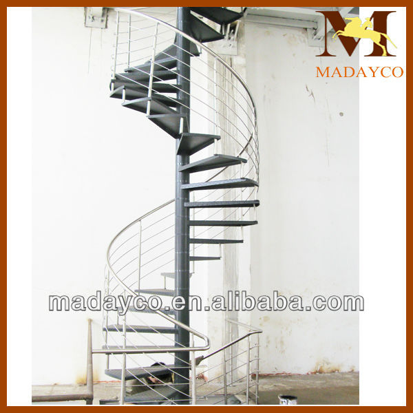 Pin Steel Spiral Stairs View Staircase Madayco Product on Pinterest