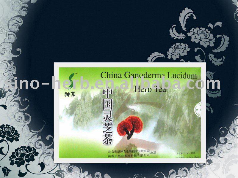 La venta caliente! Chino ganoderma lucidum té de hierbas