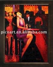 bar paintings(Pop art oil painting)