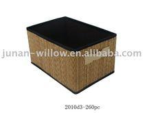 artigianato di bambù cestino