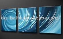 Abstract ocean waves group oil paintings