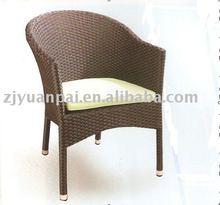 PE rattan dining chair