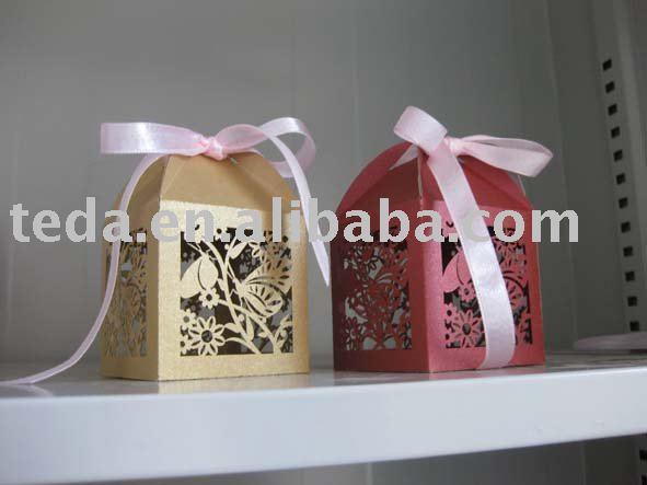 bird wedding box and wedding cupcake wrapper