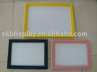 plastic snap frame, poster frame