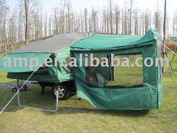 fiberglass motorcycle camper trailer