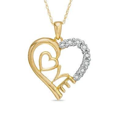 world style love pendant