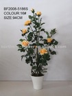 Artificial rose with pot