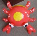 Caranguejo inflável/ brinquedo animal do mar/ decoração