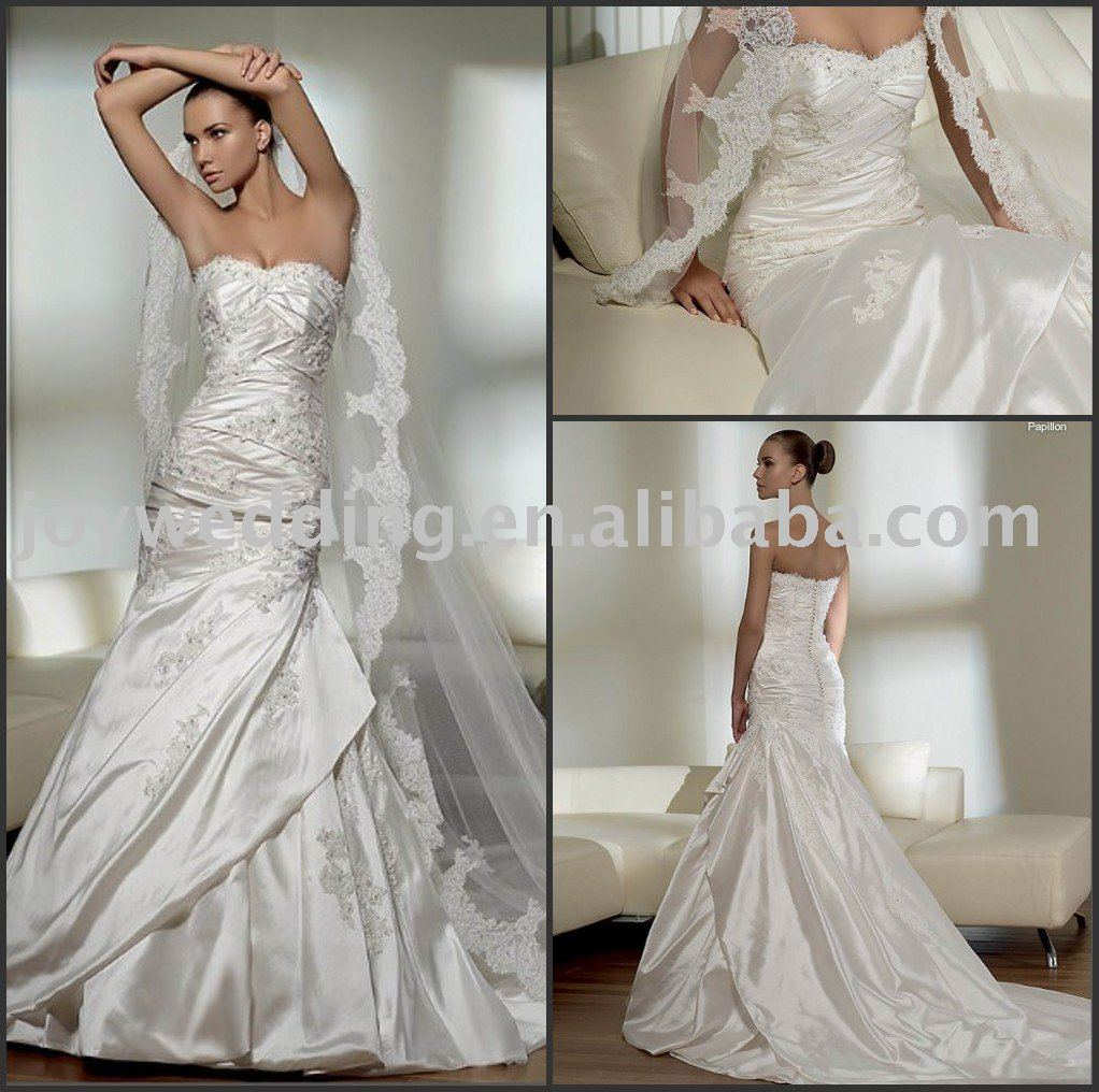 White Vs Ivory Wedding Dress