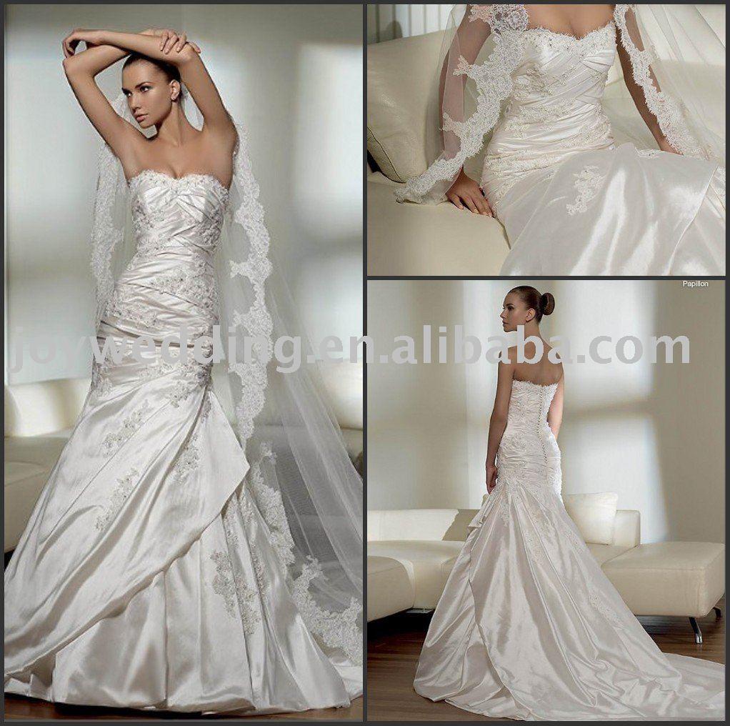 White Vs Ivory Wedding Dress