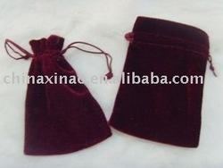 velvet gift bag (X-1118)