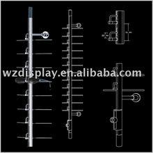 locking eyewear display rod