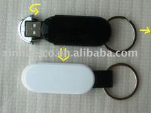 2G USB flash drive with keychain