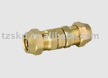 Brass pipe joint