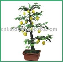 Potted artificial Lemon