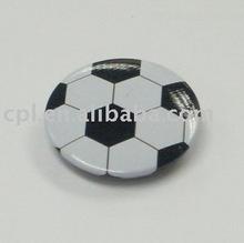 Football Tin Badge