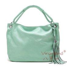 Cool tassels hobo bag, crossbody & shoulder & tote bag, 100% genuine leather fashion handbag