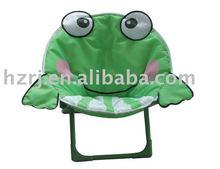 Folding kid cartoon moon chair with high quality