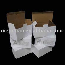 White Corrugated Paper Box