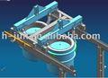 Panela e panela de carro ( usado continuar máquina de fundição )