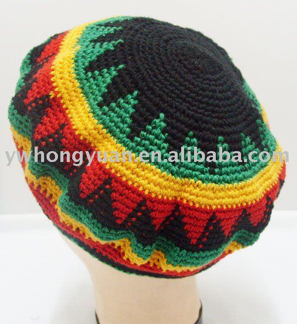 Beanie Hat New 625 Rasta Beanie Hat Pattern