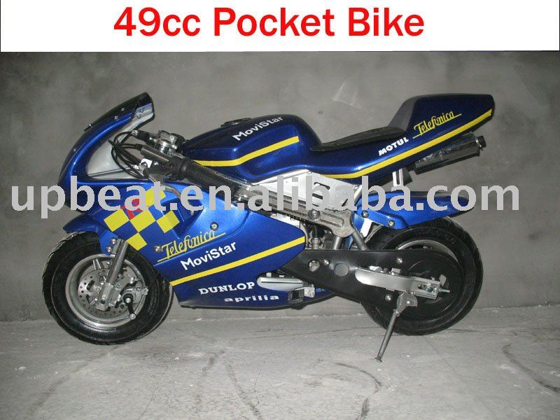 abt 49cc 2 stroke pocket bike